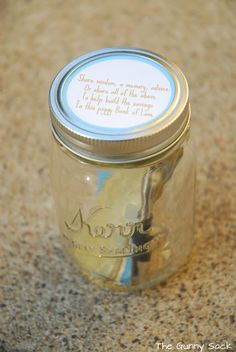 Fill a mason jar with happy memories throughout the year.  Read them at the end of the year.
