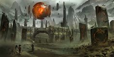 Ryan Glitter is a concept artist who's worked for the likes of Privateer Press, Crytek and Sony Online Entertainment.