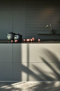Gave keuken, kleuren en strakke lijnen