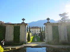Villa Balbiana, Ossuccio (Co), November