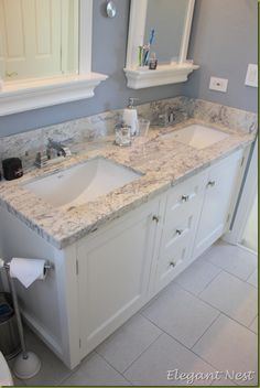 This vanity and counter would be perfect for my MB~B