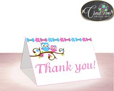Baby Shower Forrest Baby Shower Soren Gratitude Thank-you Note THANK YOU CARD, Prints, Customizable Files, Party Ideas - owt01 #babyshowerparty #babyshowerinvites