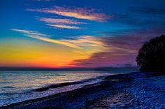 Last Light !!! Lake Ontario , Canada !!!