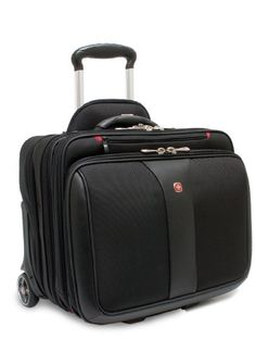 Wenger Patriot Rolling Case Blk Up To 17IN Laptop with notebook Case ** You can get more details by clicking on the image.