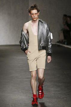 Xander Zhou Menswear Spring Summer 2015 London