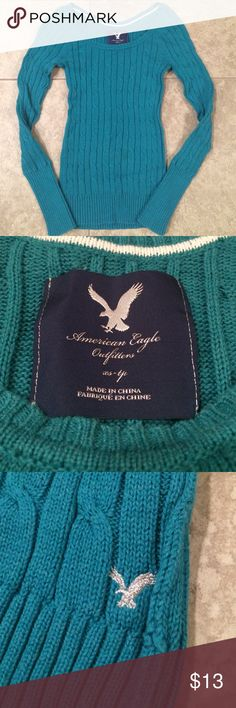 American Eagle Sweater American Eagle Sweater. Great Condition! American Eagle Outfitters Sweaters Crew & Scoop Necks