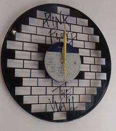 Pink Floyd-Wall Art Vinyl Record Clock - Home Decor