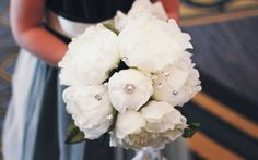 You have just received a gorgeous bouquet of flowers! Don't watch your hand delivered wedding flowers fade away, and look droopy and tired after only a White Peonies, Florals, Wedding Flowers, Floral Design, Wedding Inspiration, White Bridal, Table Decorations, Bridal Bouquets, Elegant