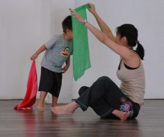 Sharing by a mum on 'Sharing Dance with your Child' held in Netherlands