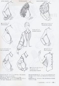 Guide to Fashion Design by Bunka fashion college (Japan) | makomako