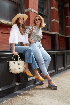 20 Flattering Pairs of Cropped Jeans That Will Make You Say Hallelujah 7af1a6f237e1