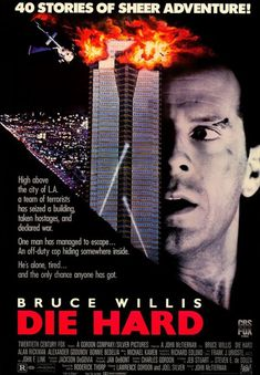 Die Hard Movie Poster 27 X 40 , Bruce Willis, Bonnie Bedelia,B, Licensed Bruce Willis, Hard Movie, Love Movie, Movie Tv, Best Action Movies, Great Movies, Action Films, Awesome Movies, 80s Movies