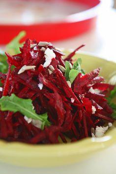 σαλάτα ωμό παντζάρι Healthy Recipes, Healthy Food, Cabbage, Salads, Food And Drink, Beef, Vegetables, Cooking, Dressings