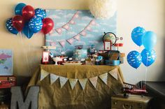 Vintage Airplane Birthday Party Ideas | Photo 22 of 38