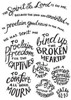isaiah 61 | 14 Promises of Isaiah 61, Part I