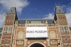 Het Rijksmuseum in Amsterdan