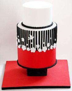 Elegantly simple cake