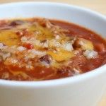 Skinny Ms. #Gluten Free recipes. Slow Cooker Chicken Chili (Chicken Chili Gluten Free)
