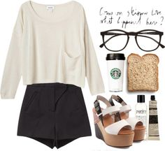 """I'm short on time"" by martinavg ❤ liked on Polyvore"