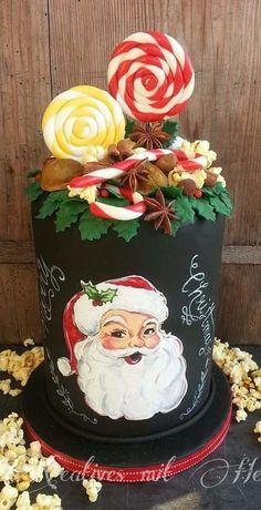 A Happy Christmas Cake