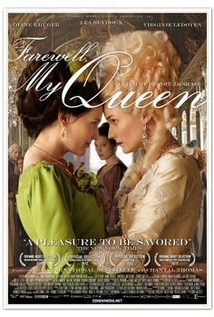 Directed by Benoît Jacquot. With Léa Seydoux, Diane Kruger, Virginie Ledoyen, Noémie Lvovsky. A look at the relationship between Marie Antoinette and one of her readers during the first days of the French Revolution. 2012 Movie, Period Drama Movies, Period Dramas, Diane Kruger, Marie Antoinette, Movies To Watch, Good Movies, Tv Shows, Virginie Ledoyen