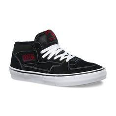 ... Trainers UK | Cheap Nike Shoes Online | Cheap Skate Shoes For Sale |  Skatehut. Vans Half Cab Pro Skate Shoes - Black/White/Red Steve Caballero's  ...