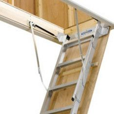 Attic Ladder Installation Replacement Lowe S Attic Ladder Attic Doors Ladder