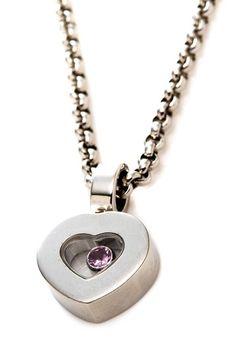 Chopard 18K White Gold Happy Diamond Chain Necklace on HauteLook