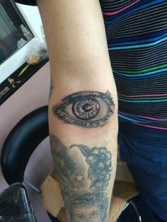 Eye tattoo,intenze tattoo ink,tatuaje brasov