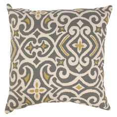 Pillow Perfect Luxury Floral Pool 16.5-inch Throw Pillow | Overstock.com Shopping - The Best Deals on Throw Pillows