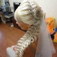 An interesting post from POPSUGAR Beauty Australia. Up Hairstyles, Pretty Hairstyles, Wedding Hairstyles, Bridal Hairstyle, Bridal Braids, Beautiful Braids, Love Hair, Hair Dos, Hair Designs