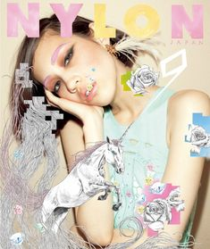 Nylon - Japan - Cover (unicorn)