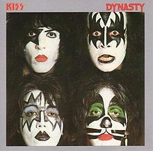 """Dynasty (1979) - KISS (This is the infamous KISS """"Disco"""" LP with """"I Was Made For Loving You"""" on it.)"""