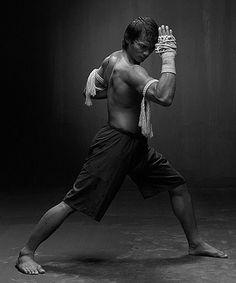 a warrior knows confidence.Muay Thai Master Tony Jaa