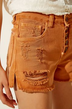 Short Sarja Botões Polo Wear, Short Jeans, Colored Denim, Jean Shorts, Diva, Pocket, Lady, Design, Women