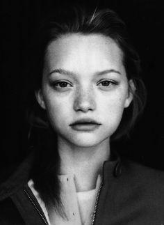 luxmint:  modelindustry:  Gemma Ward  i love her so much it...