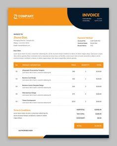 Invoice Design, Letterhead Design, Invoice Template, Page Template, Website Template, Templates, Doodle Background, Abstract Paper, Corporate Business