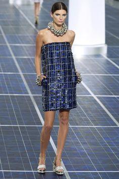 Chanel коллекция | Коллекции весна-лето 2013 | Париж | VOGUE