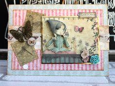 Santoro Mirabelle Butterfly Dreams card by Katie Skilton
