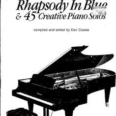 Rhapsody in Blue & 45 Creative Piano Solos / editado por Dan Coates (piano songbook pdf)