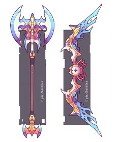 Weapon commission 50 by Epic-Soldier.deviantart.com on @DeviantArt