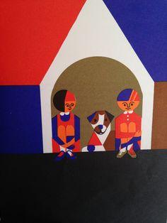 Fredun Shapur Illustrated Beginning Reader Book by LagunaVintage