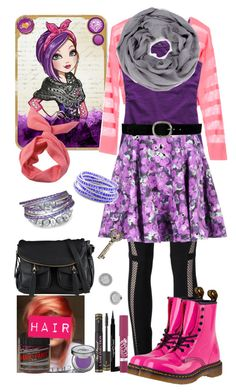 """Inspired by Poppy O'Hair from Ever After High"" by crazydirectionergirl ❤ liked on Polyvore"