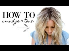 """Check out how to foil hair for that """"lived-in-blonde"""" hair color that everyone wants. This is one of my favorite techniques, and i. Hair Color And Cut, Ombre Hair Color, Blonde Color, Hair Colors, Root Smudge Blonde, Shadow Root Blonde, Tone Hair At Home, Nordic Blonde, Color Melting Hair"""