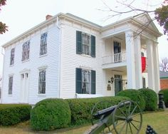 "The Lotz House   Franklin, TN  Site of the one of the bloodiest battles of the Civil War. The ""Battle of Franklin"""