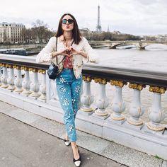 """1,706 Likes, 26 Comments - Soraya Bakhtiar ثريا بختيار (@sorayabakhtiar) on Instagram: """"Merci Paris ❤ 📷 @fannydussolphoto #chanelofficial #sorayaxchanel #gabriellebag #sorayapfw"""""""