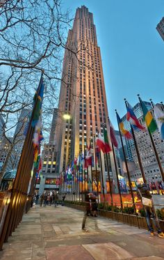 Rockefeller Center NYC by new-york-obsession