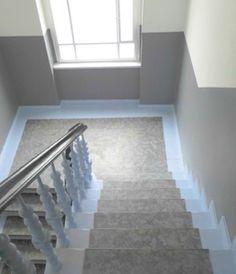 Grand City Property - Neue Farbe für Treppenhäuser der Huttenstraße in Berlin - Immobilien - Wohnung mieten Deutschland - Wohnungen deutschlandweit
