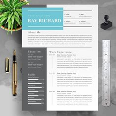 Modern Resume Format, Modern Resume Template, Creative Resume Templates, Create A Resume, Job Employment, Thank You Letter, Looking For A Job, Cover Letter Template, Resume Design