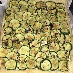 Torta salata zucchine e ricotta – Zucchini and ricotta pie